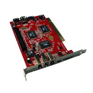 PCI Combo Card SATA, USB 2.0 & FireWire