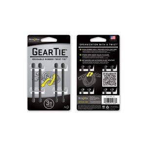 Gear Tie de 3 pouces vert feuillage de Nite Ize (4 unités)