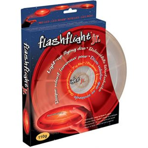 Flashflight Jr. LED Light-Up Flying Disc-O (Frisbee)