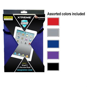 12-Pack - Neoprene Case for iPad2 - Assorted colours