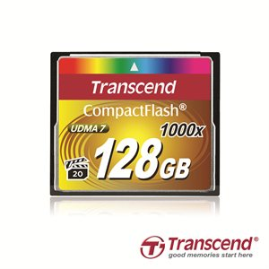 TRANSCEND 16GB Compact Flash Memory Card 1066X Ultra DMA 7