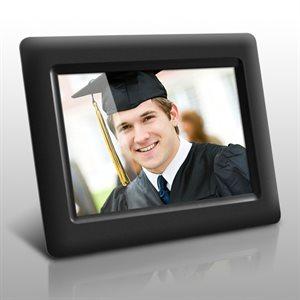 Aluratek – Cadre photo numérique de 7 po avec fonction de diaporama automatique, ADPF07SF