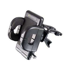 Support Grip-iT (Type P), universel, pour appareils mobiles de Bracketron - Noir