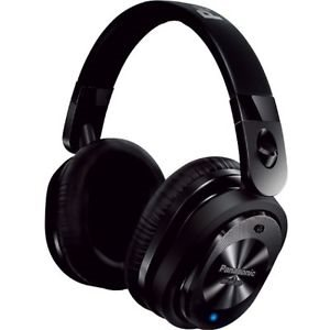 PANASONIC RPHC800K NOISE CANCELLING HEADPHONE, MIC AND SMARTPHONE CONTROLLER - BLACK
