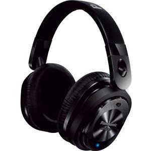 Casque d'écoute avec technologie de suppression du bruit avec micro de Panasonic - Noir
