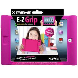 Étui E-Z Grip en silicone fait pour le Ipad Mini de Xtreme - Rose