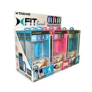 Bracelet d'entraînement XFit de Xtreme - Presentoir de 9 pièces