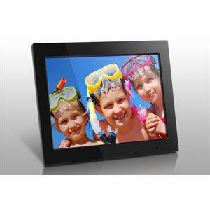 Aluratek ADMPF315f 15'' cadre photo numérique avec 4gb mémoire interne et télécommande