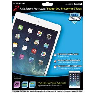 Paquet de 2 protecteur d'écran pour iPad Air d'Xtreme