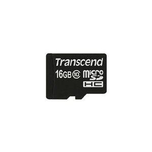 TRANSCEND 16GB MICRO SDHC10 MLC