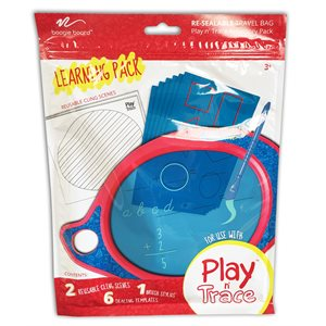 BB PLAY N' TRACE ACTIVITY PACK - LETTERS AND NUMBERS