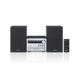 PANASONIC SCPM250S MINI SYSTEM CD BLUETOOTH- BLACK