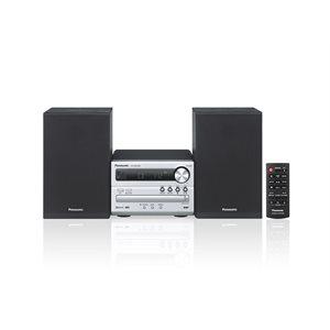 PANASONIC SCPM250S MINI SYSTEM CD BLUETOOTH- BLACK