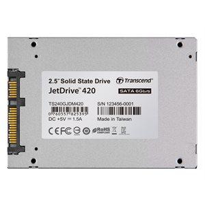 TRANSCEND 240GB JETDRIVE 420 2.5'' SSD SATA III FOR MAC