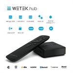 BOITE WETEK HUB ANDROID TV STREAMING - MÉDIACENTER - (OpenBox)