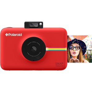 POLAROID SNAP TOUCH INSTANT PRINT DIGITAL CAMERA W/LCD DISPLAY **RED** WITH ZINK ZERO INK PRINTING