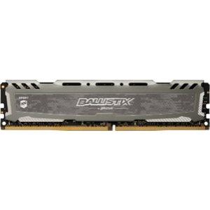 CRUCIAL BALLISTIX SPORT GREY 8GB DDR4 2400 (PC4-19200) CL16 DR X8 UNBUFF DIMM 288PIN
