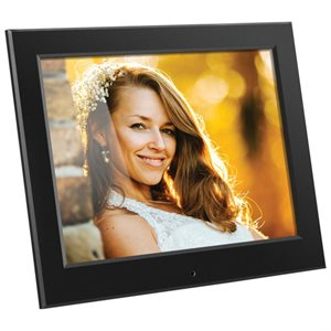 "ALURATEK 8"" Slim Digital Photo Frame Auto Slideshow 1024 x 768 Res"