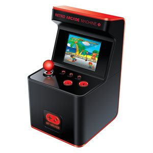 DREAMGEAR MYARCADE RETRO ARCADE MACHINE X 300 GAMES (16-BIT)