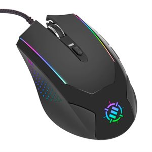 ACCESSORY POWER ENHANCE VOLTAIC BLACKOUT GAMING MOUSE- FEATURES 3500 DPI