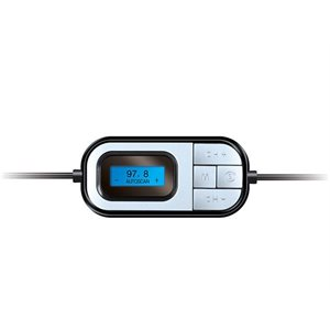 ISOUND POWER TUNE FM TRANSMITTER WITH BUILT-IN CAR CHARGER
