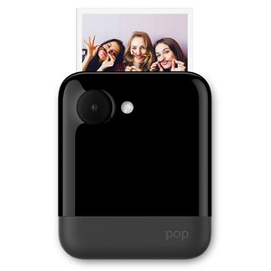 POLAROID *BLACK*POP INSTANT PRINT DIGITAL CAMERA W/ZINK ZERO INK PRINTING TECHNOLOGY