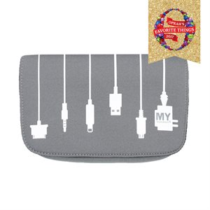 MYTAGALONGS PLUG IN CHARGER CASE GREY