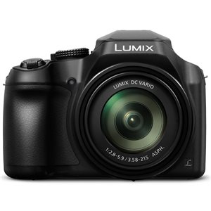 PANASONIC DCFZ80K LUMIX 16MP 60 X 20MM WIDE BLACK 2017