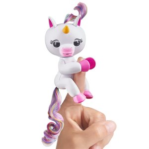 WOWWEE Fingerlings Baby Unicorn - Gigi (White)