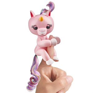 WOWWEE Fingerlings Baby Unicorn - Gemma (Pink)