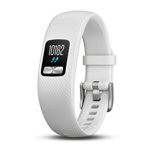 Garmin Vivofit 4, NA White (Small/Medium)