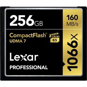 LEXAR # 256GB PROFESSIONAL 1066X CF