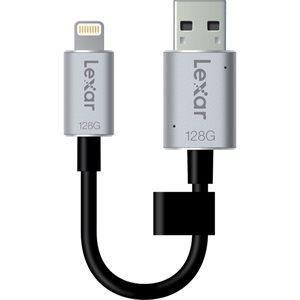 LEXAR # 128GB JUMPDRIVE C20M  USB 3.0 (SMALL BLISTER)