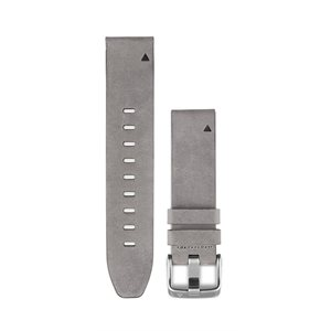 Garmin QUICKFIT. 20 WATCH BANDS, GREY SUEDE LEATHER