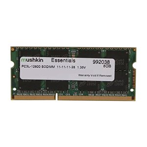 MUSHKIN ESSENTIALS 8GB DDR3 SODIMM 1600MHZ PC3L-12800 1.35DV