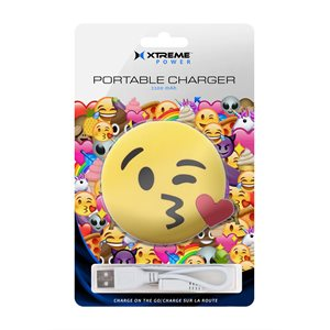 XTREME  2200mah EMOJI POWER BANK KISS