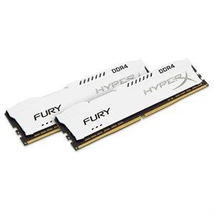 Kingston 32GB 3200MHz DDR4 CL18 DIMM (Kit of 2) HyperX FURY White