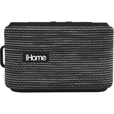 iHome Portable Water Resistant Rechargeable Bluetooth Speaker with Speakerphone