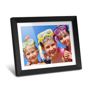 "ALURATEK 15"" Hi Res Digital Photo Frame with 2 GB Built-In Memory and Remote (1024 res x 768)"