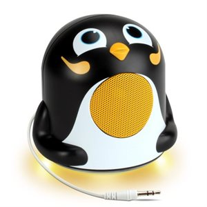 ACCESSORY POWER GO GROOVE Penguin Jr. nighttime LED light and speaker
