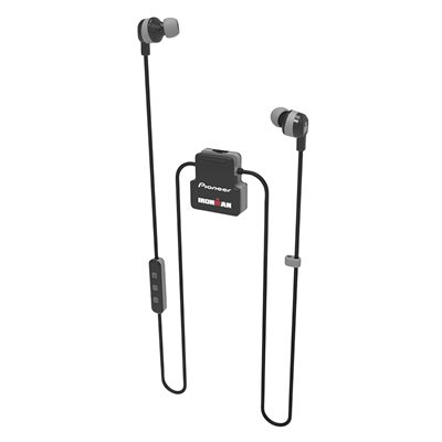 PIONEER IRONMAN Wireless Sport Earphones -Black / Grey