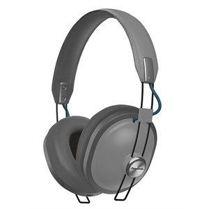 PANASONIC RPHTX80H WIRELESS BLUETOOTH HEADPHONES MATTE STEEL