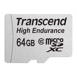 Transcend 64GB High Endurance microSDXC/SDHC Class10