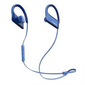PANASONIC WINGS Ultra-Light Wireless Bluetooth Sport Earphones-Blue