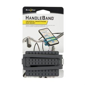 NITE IZE HandleBand® Universal Smartphone Bar Mount - Charcoal
