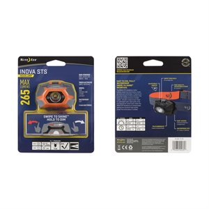 NITE IZE INOVA STS Headlamp - Orange
