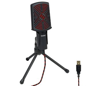 ACCESSORY POWER ENHANCE USB Condenser Microphone *Red*