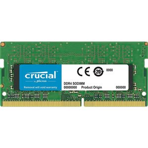CRUCIAL 16GB DDR4 2400 MT/s (PC4-19200) CL17 DR x8 Unbuffered SODIMM 260pin for Mac