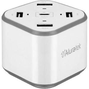 ALURATEK 48W USB Charging Station with Type-C  & QC 3.0