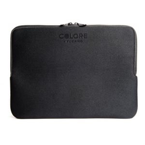 """Tucano Colore Second Skin sleeve for notebook 15.6""""  BLACK"""
